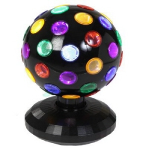 RGB LED DISCO BALL  15 Cm